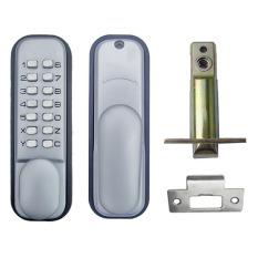 Mechanical Lockey Digital Deadbolt Lock with Handle