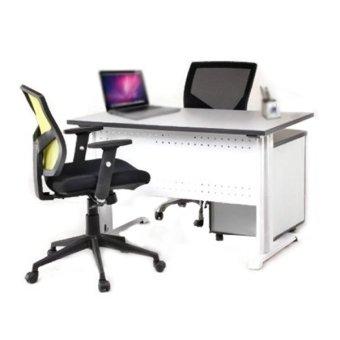 Meja Kantor Aditech FR 09 - Putih | Lazada Indonesia