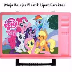 Meja Lipat Anak KidzyTable Pink - My Little Pony 02