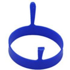 Moonar Kitchen Round Silicone Egg Fry Frier Fried Oven Pancake Ring Mould Tool Blue