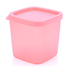 Multifunction Frosting Crisper Plastic Box Kitchen Sorting Food Storage Container (SIZE:S 230ML) (Pink)