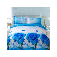 New 3D Printing 4pcs Bedding Sets Full / Queen / King Size 2 Pillowcases / Bed Linen / Duvet Cover Set