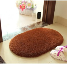 New Super Soft Floor Mat Oval Bedroom Carpet Shaggy 50 X 80 Area Rug For Living Room Carpet Home Decoration Floor Carpet