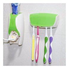 New Toothpaste Dispenser - Dispenser Odol Hijau Harga Grosir