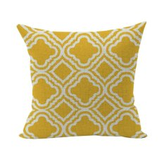 Nunubee Cotton Linen Home Square Pillow Decor Throw Pillow Case Sofa Cushion Cover Diamond 2