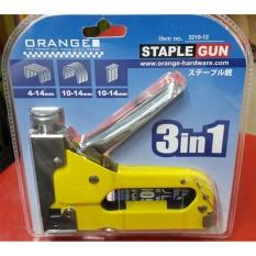 Orange Staple Gun / Staples Tembak