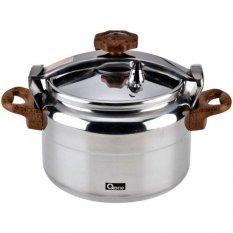 Oxone OX-2008 Pressure Cooker Alupress 8 Liter - Peralatan Masak - Silver