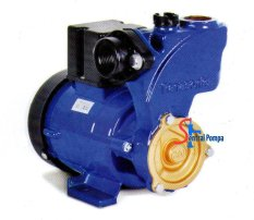 Panasonic Pompa Sumur Dangkal 125 Watt GP129-JXK - Hitam-Biru