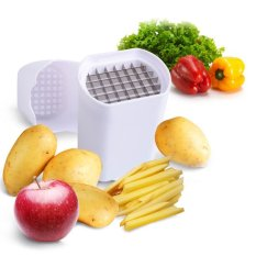 Perfect Fries Potato Chips Natural French Fry Cutter Vegetable Fruit Slicer