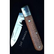 Pisau Cap Garpu Lipat/Folding Knife Asli Solingen Jerman Type.0106