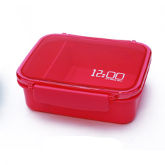 Plastic Lunch Box.Dinner Pail.Thermal Insulation Bento Box.Snack Picnic Box.Fresh Keeping Storage Box.Vegeable & Fruit Box.Home Living & Outdoor Lunch Box. (Red) - Intl