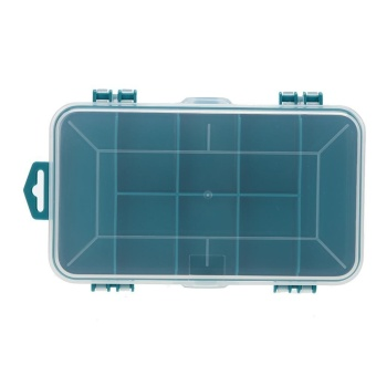 Plastic Tool Box Case Double-Side Components Tool Storage Box - intl