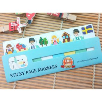 Dapatkan 4ever 2 Bags 400 Pages Scrapbooking Ten Fingers Sticker Source · Post It Sticky Notes