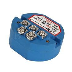 PT100 Pemancar Sensor Suhu 4-20 Ma Output Biru