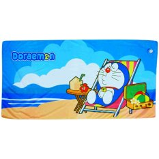 Quick Dry Handuk Doraemon Beach