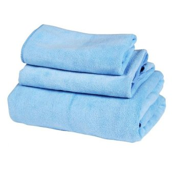 Quincy Home Quick Dry Towel - Blue