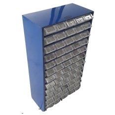 Rak Komponen Besi 60 Slot Organizer Tempat Box Kotak Lemari Perkakas Kunci Baut Mur Obeng Spare Part Tool Box Tool Kit