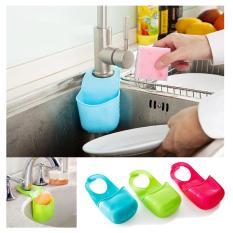 Rak Tempat Sabun/Busa Cuci Piring Gantung kamar mandi/dapur HL-11 - Biru