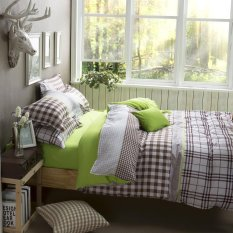 Rural Style Home Textile Cotton Polyester Bedding Set Bed Linen Duvet Cover Bed Sheet Pillowcase Bedding Sets Full Queen King Size Quality Guaranteed