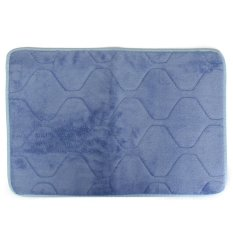 S & F 40 x 60cm Absorbent Soft Memory Foam Mat Bath Bathroom Rug Shower Non-slip Floor Carpet