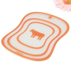 S & F Fruit Vegetable Meat Fish Cutting Board Chopping Mat Flexible Thin Kitchen Tool