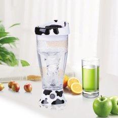 S & F Portable Dairy Cow Automatic Self Stirring Mug Milk Coffee Tea Mixing Cup