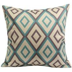 Sanwood Vintage Cotton Linen Pillow Case Cushion Cover Home Decor Type 1 (Intl)