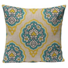 Sanwood Vintage Cotton Linen Pillow Case Cushion Cover Home Decor Type 11 (Intl)