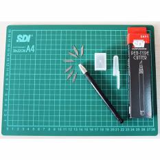 SDI Craft Sets - Cutting Mat A4 & Pen Type Cutter