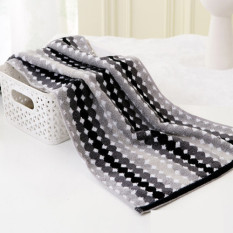 Set Of 3 100% Cotton Thickened 70*34cm Face Towel Hand Towel Soft and Water Absorption (Intl)
