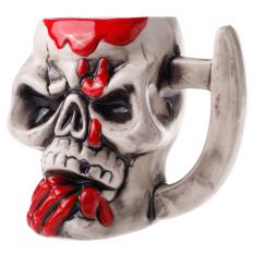 SGZC Creative Articles Of Daily Use Skull Ceramics Cup 80159-D (Intl)