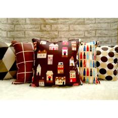 Shafiyyah.Sarban (1 SET / 5 PCS) Sarung Bantal Sofa 40x40