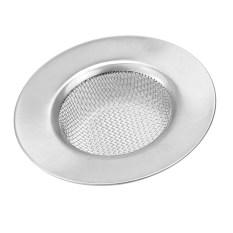 Silver Stainless Steel Bathroom Kitchen Mesh Sink Drain Strainer Filter Stopper - Intl