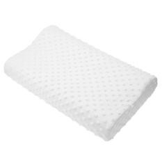 Slow Rebound Memory Foam Orthopedic Latex Neck Pillow - Intl
