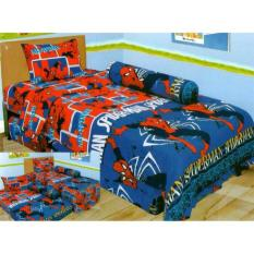 Sprei Single 2In1 Lady Rose Sorong Motif Spiderman