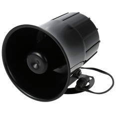 Super Power Alarm Siren Horn Outdoor With Bracket For Home House Alarm System Security - Intl