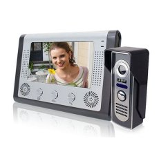 SY801M1.7inch Color Video Door Phone Intercom Kit with IR Night Vision