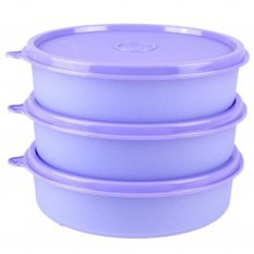 Tupperware Large Handy Bowl - 3 Pcs - Ungu