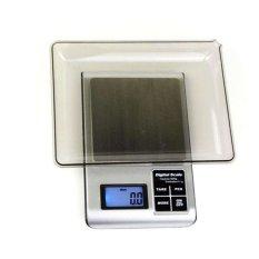 Universal 5KW 1.8 Inch LED Digital Electronic Jewelry Scale 3000g X 0.1g - Black