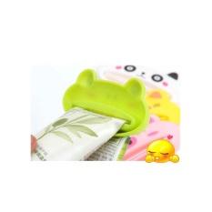 Universal Alat Penjepit Jepit Odol Pasta Gigi Kantong Pencetan Krim Model Green Frog