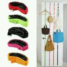 UP AND HOOK Hanger Gantungan Baju Tas Pintu Down Tali