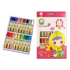 Watercolor Crayons Non-TOXIC 18 Assorted Colors Pink - Intl