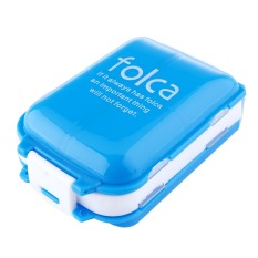 Weekly Folding Medicine Drug Pill Box Storage Case Container Transparent
