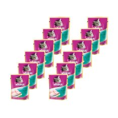 Whiskas Pouch Tuna - 85gr 12 Pcs
