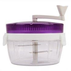 Whiz Twisting Vegetable Chopper - Purple (Alat Pengiris Sayuran - Ungu)