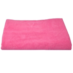 Whyus Hot Sale New Luxury Soft Microfiber Bath Camping Towel (Deep Pink)