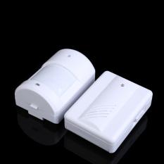 Wireless Infrared Monitor Sensor Detector Entry Door Bell Doorbell Alarm (Intl)