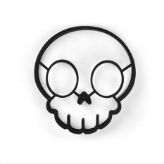 XIYOYO Creative Household Articles Kitchen Utensils Skull Head Shapedomelette Ring - Intl