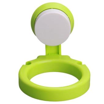 XIYOYO Wall-Mounted Bathroom Sucker Hair Dryer Holder Stand Rackhairdryer Organizing Holder With Suction Cup (Green) - Intl