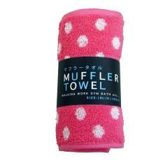 Yawaragi New Muffler Dot - Pink